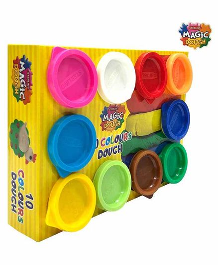 Sterling Magic Dough Pack Of 10 - Multicolor