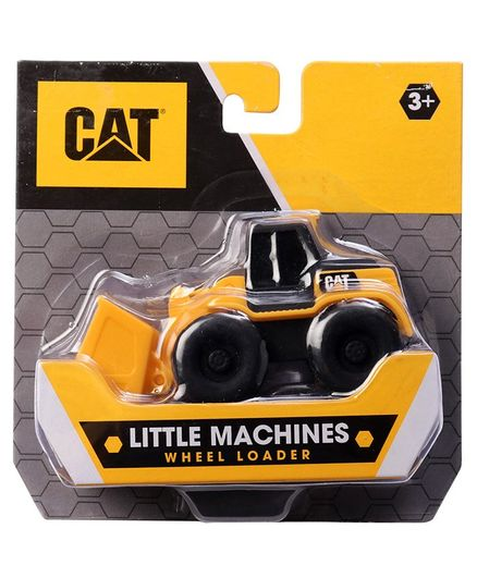 CAT Little Machines Construction Vehicle - Yellow