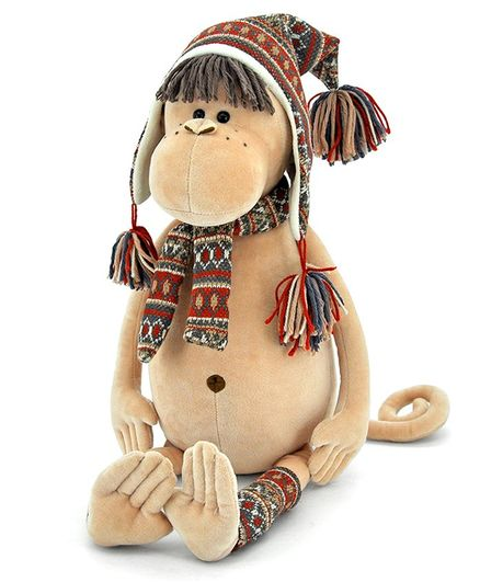 Orange Toys Irma The Monkey - Height 35 cm