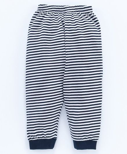 Ollypop Full Length Striped Lounge Pant - Navy
