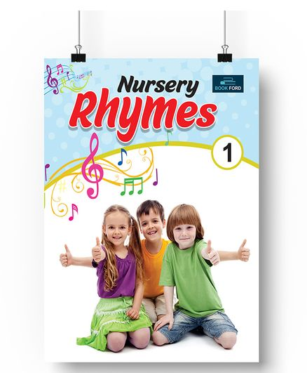 Nursery Rhymes Book For Kids - English