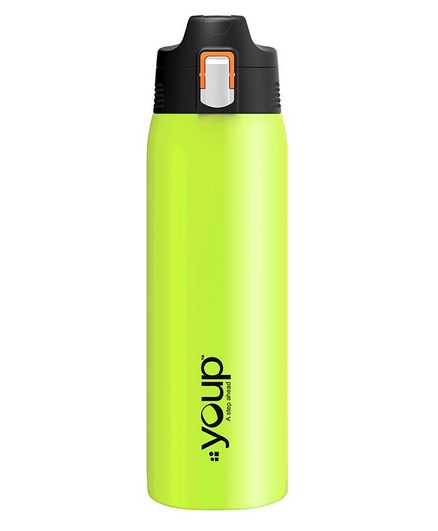 Youp Thermosteel Water Bottle Yp753 Green - 750 ml