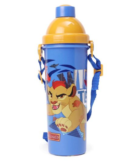 Lion King Sipper Bottle Yellow & Blue - 500 ml
