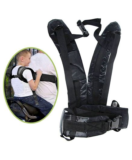 Magic Seat Two Wheeler Safety Seat Belt - Navy Blue
