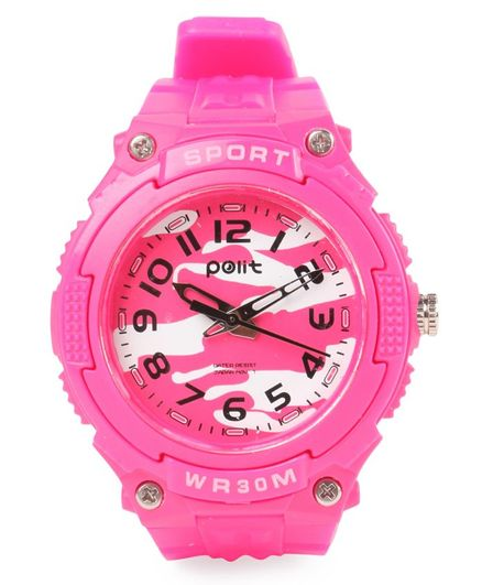 Sports Analog Watch - Pink