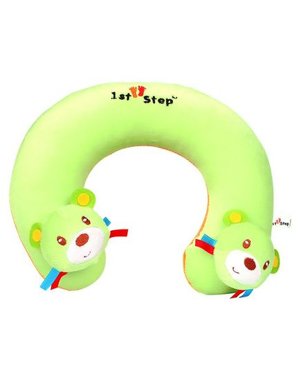 1st Step Dog Faced Neck Support Pillow - Green