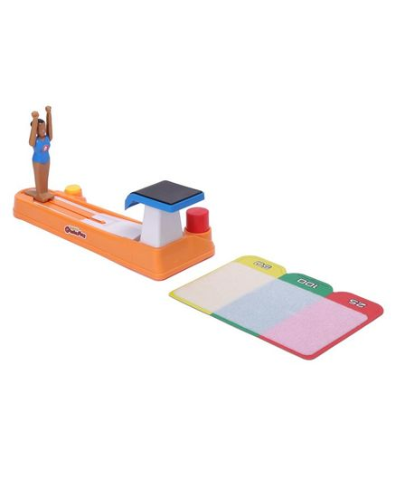 Hasbro Challenging Gymnastics Vault Game - Multicolor