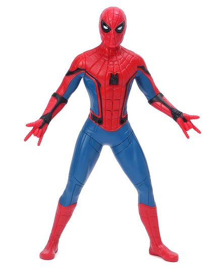 Marvel Spider-Man Action Figure with Sound Fx Suit Upgrades & Web Blaster Accessory - 34 cm