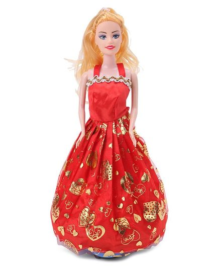 Fashion Doll Red - Height 26 cm