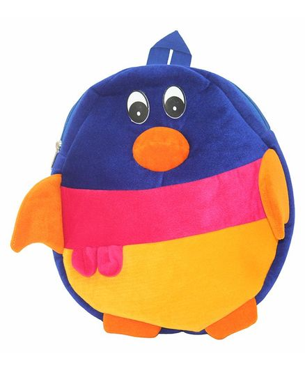 Hello Toys Penguin Cartoon Soft Toy Bag Multicolor - 15 Inches