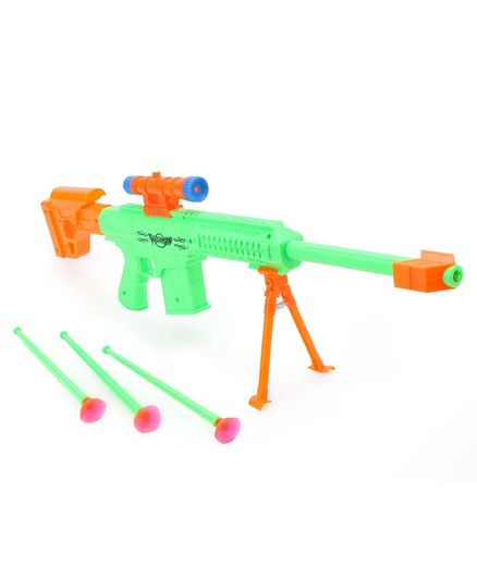 Ratnas Air Marshall Gun With Darts - Green