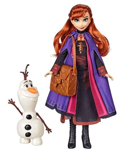 Disney Frozen 2 Classic Costume Anna Travel S Multicolore