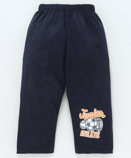 Tango Full Length Track Pant Ball Print - Navy
