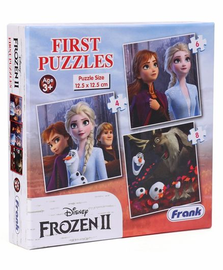 Disney Frozen II First Puzzles Multicolor - 18 Pieces