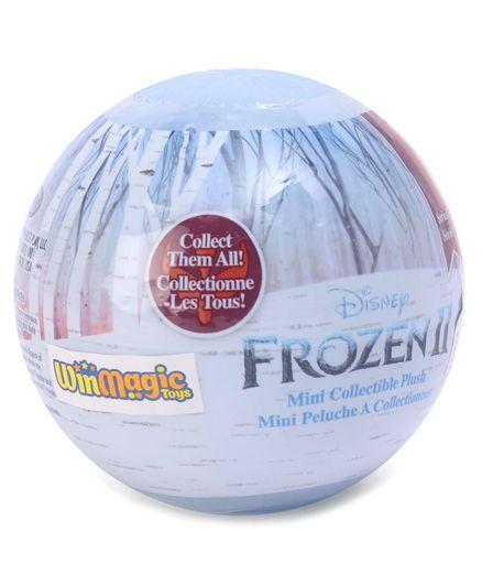 3 Balls DISNEY FROZEN 2 II Surprise MINI COLLECTIBLE PLUSH Doll Series 1 Capsule