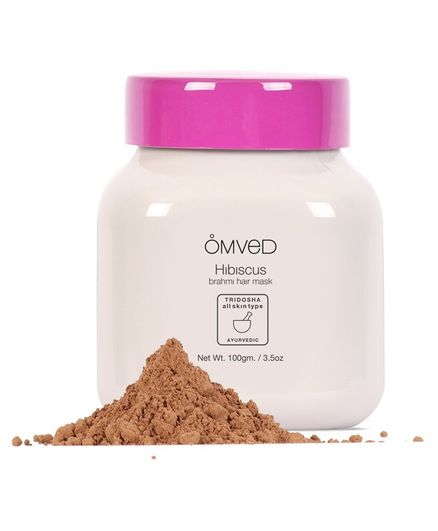 Omved Hibiscus Brahmi Hair Pack - 100 gm