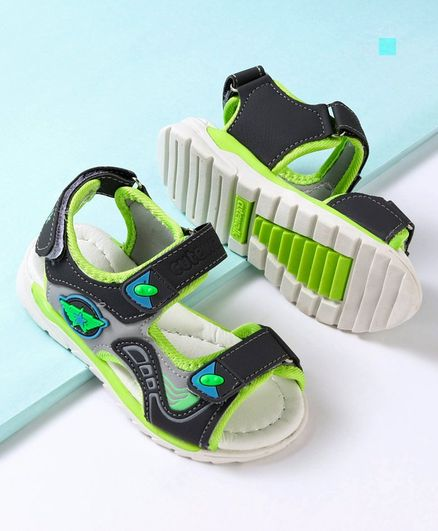 Cute Walk by Babyhug Sandals - Green