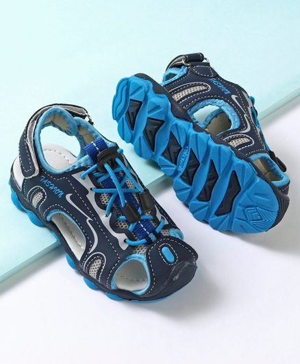 Cute Walk by Babyhug Sandals - Blue