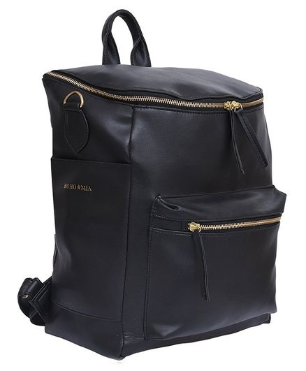 Bohomia Premium Stylish Commuter Backpack - Black
