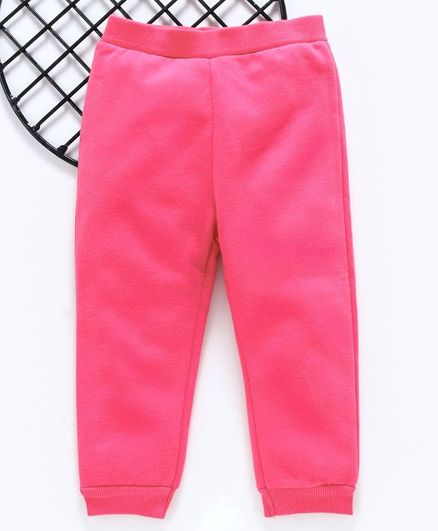 LC Waikiki Solid Full Length Pants - Pink