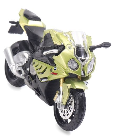 Maisto Die Cast Harley Davidson Motorbike - Light Green