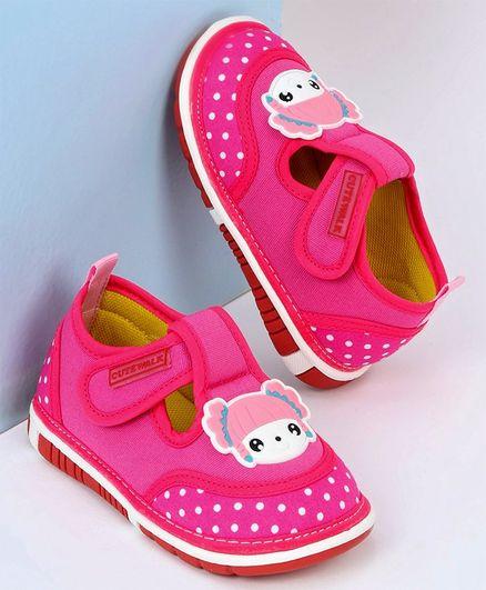 Babyhug Casual Musical Shoes Dot Print