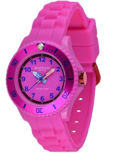 a19400541 Madison Kids Analogue Wrist Watch Pink for Girls (5-12 Years) Online ...