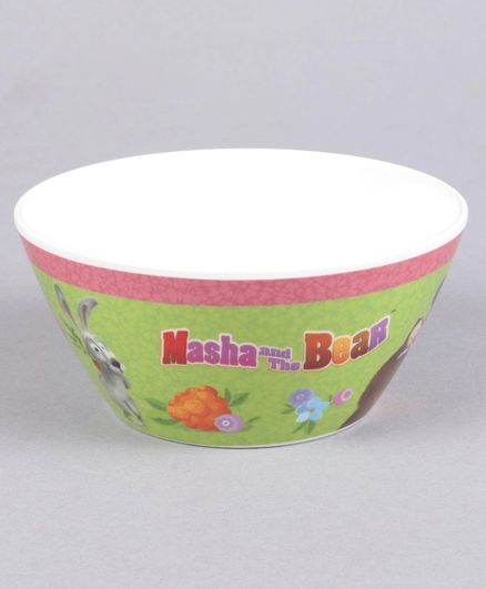 Masha and the Bear Cone Bowl - Green