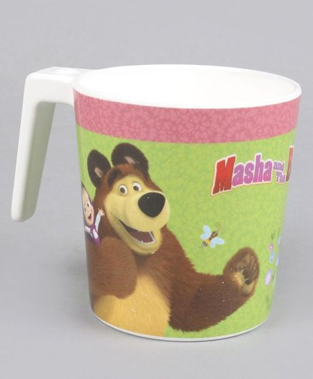 Masha & The Bear Mug With Handle - Multicolor