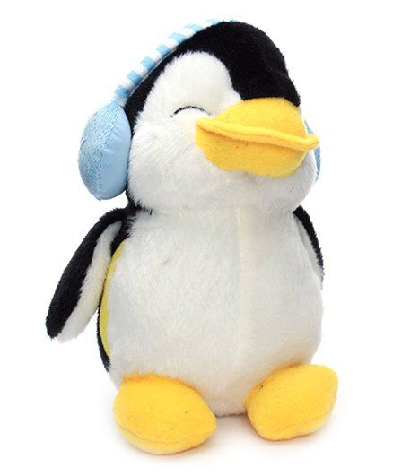 Dimpy Stuff Penguin With Ear Muffs