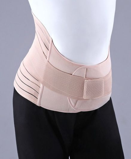 Babyhug XX Large Size Post Maternity Corset Belt - Beige