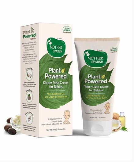 Mother Sparsh Plant Powered Diaper Rash Cream - 50 gm