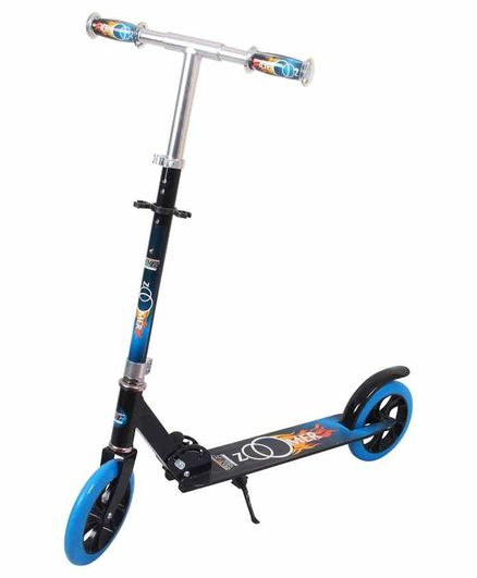 Cosmic Zoomer 2 Wheel Scooter With Stand - Blue Black