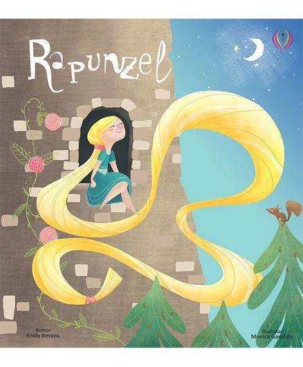 Buttercup Rapunzel Favourite Bedtime Story Book by Emily Bevens - English