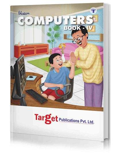Target Publications Blossom Basic Knowledge of Computer Level 4 - English