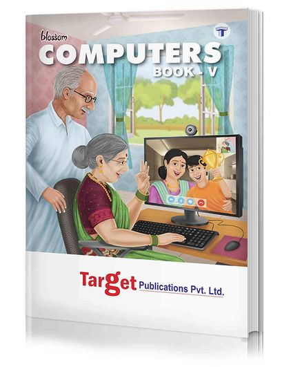 Target Publications Blossom Basic Knowledge of Computer Level 5 - English