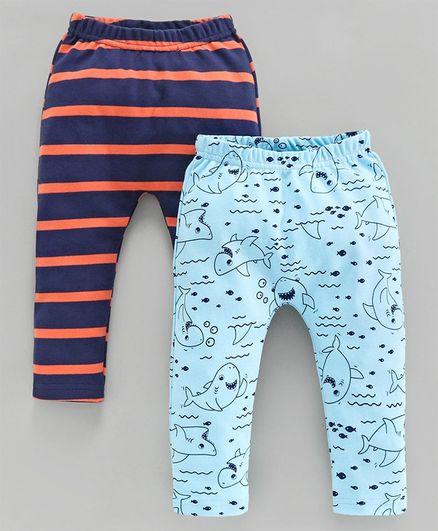 NWT Finding Nemo Baby Cotton Tight Fit Pajamas 2 Pc Set Blue Orange Sz 12M /& 18M