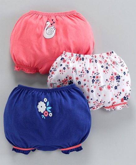 Name It Baby Girls Bloomers Pack of 3