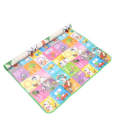 ToyMark Reversible Educational Play Mat - Multicolour