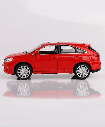 Emob Die Cast Pull Back Lexus Car with Opening Doors - Red