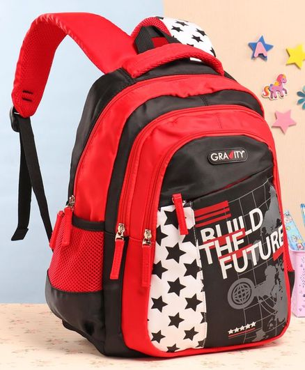 Gravity School Bag Star Print - 15 Inches