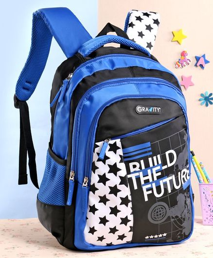 Gravity Build School Bag Blue - 19 Inches