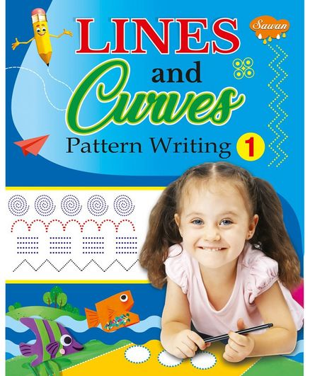 Sawan Lines & Curves Book 1 - English