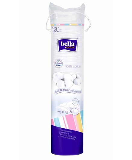 Bella Double Sided Cotton Pads  - 120 Pieces