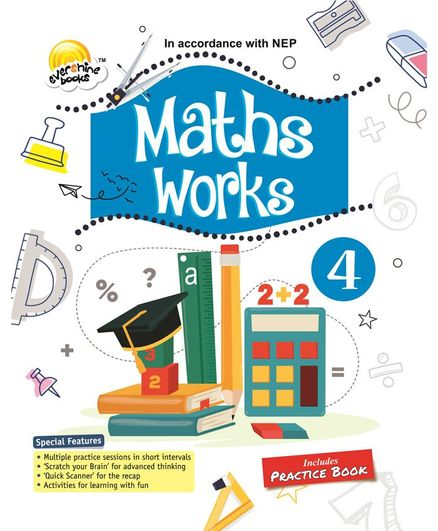 Evershine Maths Works 4 - English
