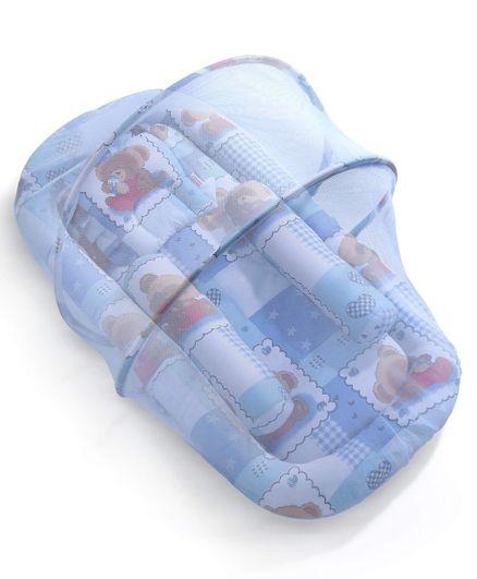 fa04b9199 Babyhug Teddy Print Baby Jumbo Bedding Set With Mosquito Net ...
