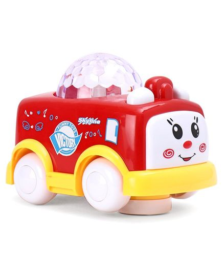 Toy Car with Music & Lights - Red