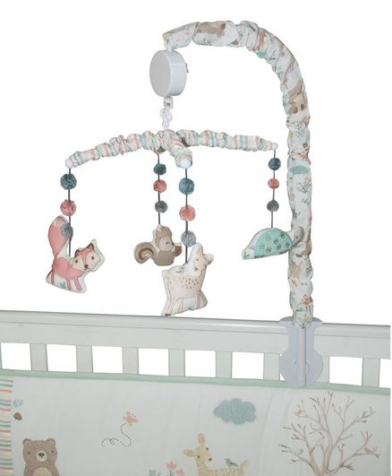 Abracadabra Musical Cot Mobile Woodland Friends - Multicolor