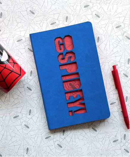 Doodle Go Spidey Diary Blue - 160 Pages