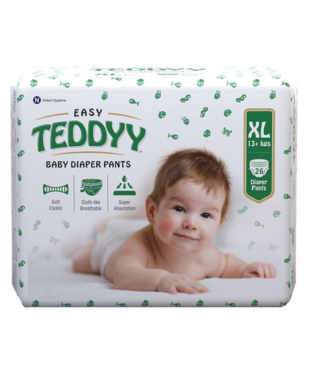 Teddyy Baby Easy Pants  Extra Large Size - 26 Pieces